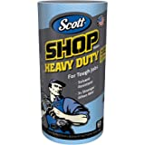 Scott Shop Towels Heavy Duty (32992), Blue Shop Towels for Solvents & Heavy-Duty Jobs, 60 Sheets / Roll, 720 Sheets / Case (P