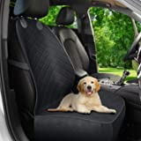 Active Pets Front Seat Dog Cover, Durable Protector Against Mud & Fur Waterproof, Scratch Proof & Nonslip Seat Pet Cover - Do