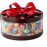 リンツ (Lindt) チョコレート リンドールギフトボックス 100個入り ショッピングバッグL付