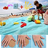 """Abeter Sand Free Beach Mat Blanket (79""""×79"""") Sand Proof Magic Sandless Sand Dirt & Dust Disappear Fast Dry Easy to Clean Wate"""
