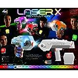 Laser X クロスシューティング 4丁セット レーザーXシューティング ゲーム ライフ 対戦 4セット クロスシューティング 4丁セット
