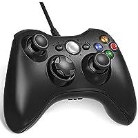 Nuyoo xbox 360 コントローラー PC USB ゲームパッド 有線ゲームパッド Microsoft Xbox…