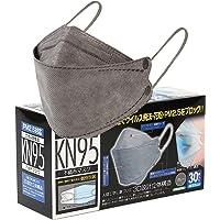 【個包装】KF94型 高機能 4層構造 不織布マスク 3D立体マスク 30枚入 耳が痛くなりにくい 平紐タイプ 不織布…