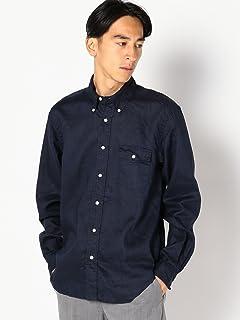 Linen Buttondown Shirt 111-10-0153: Navy