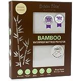 Bubba Blue Bamboo Mattress Moses Basket Protector, White