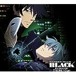 DARKER THAN BLACK Android(960×854)待ち受け 銀(イン),黒(ヘイ)