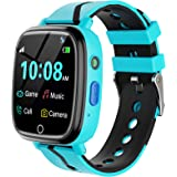 Kids Smart Watch for Boys Girls – Kids Smartwatch with Call 7 Games Music Player Camera SOS Alarm Clock Calculator 12/24 hr T