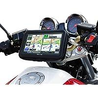 バイク用 ポータブルナビ バイクナビ 防水 7インチ ナビ カーナビ 2020年版 3年 地図更新無料 オービス マップ NV-A001E-SET4