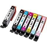 【BMFT】 EPSON エプソン インクカートリッジ80 用互換インク IC6CL80L ICBK80L 残量検知機能付 新品IC 大容量 純正品 併用可能 6色・7個