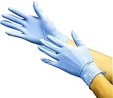 川西工业 丁腈 超薄手套 无粉末 100枚装 #2039, 蓝色