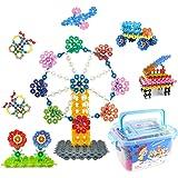 WTOR 700ピース おもちゃ 積み木 知育 玩具 DIY はめ込み ブロック 子供 立体 パズル 男の子 女の子 誕生日プレゼント クリスマス 贈り物 収納ケース付け