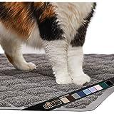 Gorilla Grip Original Premium Durable Cat Litter Mat (35x23), XL Jumbo, No Phthalate, Water Resistant, Traps Litter from Box
