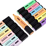 ZEYAR Highlighter, Chisel Tip Marker Pen, Assorted Colors, Water Based, Quick Dry (12 Colors)