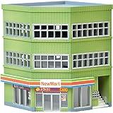 建物コレクション 建コレ 133-2 交差点の建物 A2 ジオラマ用品
