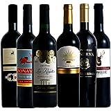 [Amazon限定ブランド] MTWS フルボディファンの為の赤ワインを厳選セレクト 飲み比べ6本セット 750ml×6本