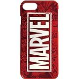 グルマンディーズ 〈MARVEL〉 iPhone8/7/6s/6(4.7インチ)対応3Dハードケース コミック・レッド mv-96a