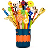 Super Cute gel pens,Fun Pens Gel Ink Pen Kawaii Pen Writing Pen cute pens,Perfect for School Office Family use School Supplie