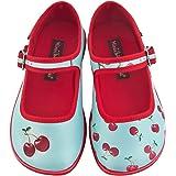 Hot Chocolate Design Mini Chocolaticas Cherry Girls Mary Jane Flat