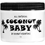 Coconut Baby Oil Organic Moisturizer - Hair and Skin Care - Cradle Cap Treatment, Eczema and Psoriasis Relief - Sensitive Ski