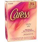 Caress Moisturizing Beauty Bar, Daily Silk, 4.25 oz, 8, ct