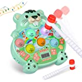 Whack a Mole Pounding Hammering Game - Early Development Toy with Light and Sound - Baby Interactive Fun Toy Best Birthday Gi