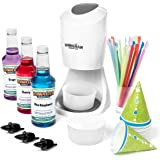 Shaved Ice Machine and Syrup Party Package   Includes S900A Shaved Ice Machine, 3 Ready-to-Use Pints of Syrup, 25 Snow Cone C
