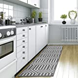 """DEXI Kitchen Rug Mat, Non-Slip Runner Rug for Kitchen Floor, Entryway, Hallway and Dining Room, Machine Washable Area Rug 20"""""""