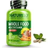 NATURELO Whole Food Multivitamin for Teens - Natural Vitamins/Minerals for Teenage Boys & Girls - Best Supplement for Active
