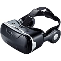 サンワサプライ 3D VRゴーグル 焦点距離調節機能・ヘッドホン付き MED-VRG3