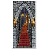 Beistle Beistle Castle Entrance Door Cover, 30-Inch by 5-Feet