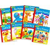 Sesame Street Elmo Manners Books for Kids Toddlers -- Set of 8 Manners Books