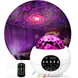 Night Light Projector ,Star Projector ,LED Galaxy Ocean Wave Projector Bluetooth Music Speaker for Baby Bedroom,Game Rooms,Pa