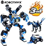 Robot STEM Toy   3 in 1 Fun Creative Set   Construction Building Toys for Boys Ages 6-14 Years Old   Best Toy Gift for...