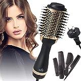 STORMHERO Hair Dryer Brush, Hot Air Brush, 4in1 One Step Hair Dryer & Volumizer AU PLUG SAA Certified(Gold)