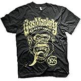 Gas Monkey Garage Officially Licensed Logo Men's T-Shirt (Black)