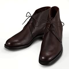 Chukka: Dark Brown Cotswold Grain