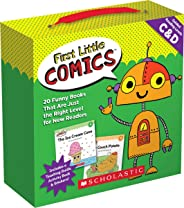 First Little Comics Guided Reading Levels C & D: 20 Funny Books That Are Just the Right Level for New Readers
