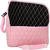 LLSW shop Car Handbag Holder,Leather Seat Back Organizer Mesh Large Capacity Bag,Purse Storage & Pocket, Seat Back Net Bag,Ca