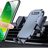 VICSEED Car Phone Holder Mount, [Upgrade Doesn't Slip & Droop] Air Vent Universal Cell Phone Holder for Car Hands Free Easy C