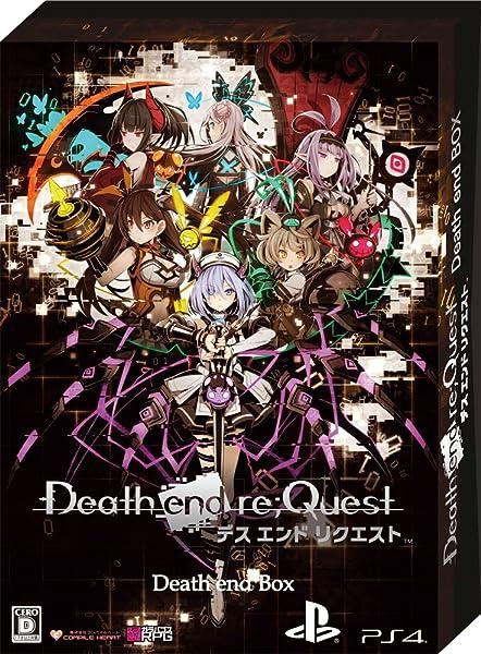 Death end re;Quest Death end BOX 【限定版同梱物】・ナナメダケイ描き下ろし収納BOX ・ビジュアルアートワーク ・オリジナルサウンドトラックCD ・秘蔵データ素材集CD-ROM ・クリアビジュアルポスターセット 同梱 & 【予約特典】RPGツクール制作によるスペシャルPCゲーム『END QUEST』 (CD-ROM) & バッドエンド画集『Death end Note』~祁答院 慎氏解説付き~ 付 & 【Amazon.co.jp限定】アル・アストラ専用武器『スピアー型殺蟲灯』DLCコード 配信