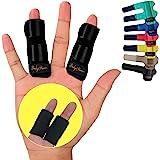 BodyMoves 2 Finger Splints Plus 2 Sleeves for Trigger Mallet Broken Finger Brace Joint Support for Men and Women- Ideal for S