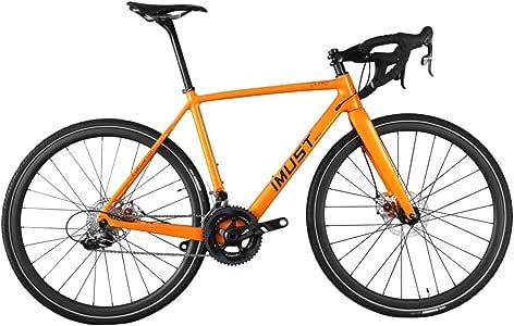 IMUST(アイマシト) AC109 カーボン クロスバイク ディスクブレーキ BB:BB86 DI2  フレムサイズ:48・50.・52・54・56・58㎝選択可