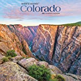 Colorado Wild & Scenic 2021 12 x 12 Inch Monthly Square Wall Calendar with Foil Stamped Cover, USA United States of America R