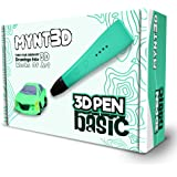 MYNT3D Basic 3D Pen, 1.75mm ABS and PLA Compatible 3D Printing Pen