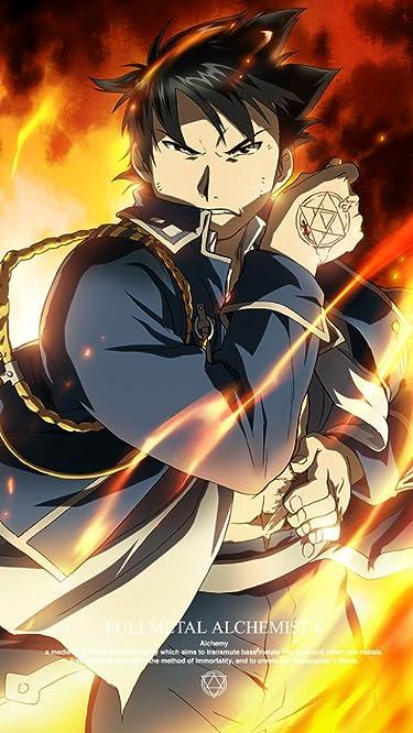鋼の錬金術師  iPhone/Androidスマホ壁紙(640×1136)-1 - 傷口を焼いて止血して戦うマスタング大佐