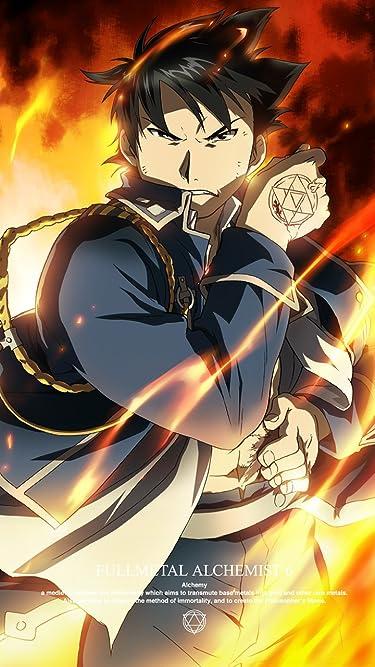 鋼の錬金術師  iPhone/Androidスマホ壁紙(720×1280)-1 - 傷口を焼いて止血して戦うマスタング大佐