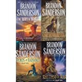 Stormlight Archive 4-Book Set(The Way of Kings, Words of Radiance, Oathbringer, Rhythm of War )