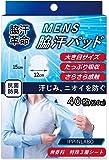〔 IPPINLABO 〕 【 脇汗 革命 】 MENS 脇汗パッド 40枚/20組 無香料 特殊3層シート