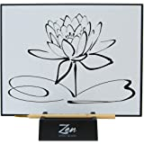 Zen Artist Board, Paint with Water Relaxation Meditation Art, Relieve Stress, Large Magic Painting Board Drawing with Waterco