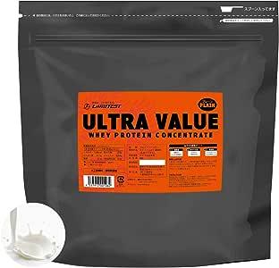 工場直販 1,660円/kg リミテスト 無添加 ホエイ プロテイン 国内製造 ULTRA VALUE (ウルトラバリュー) 3kg 約86食分 プレーン リミテスト